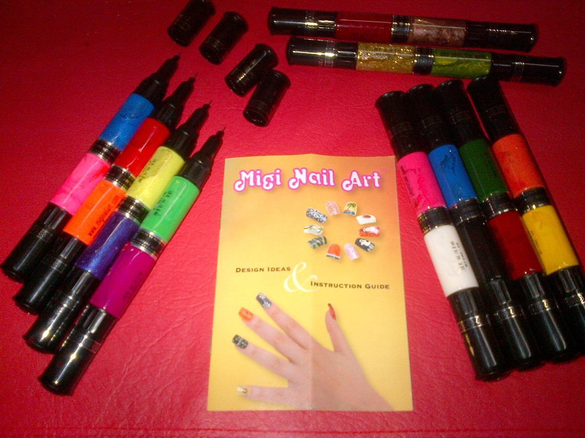 migi nail prod unico para decorar tus uas set colores