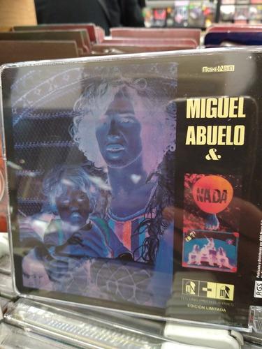 miguel abuelo (&) nada cd nuevo edición  2019 de rgs music