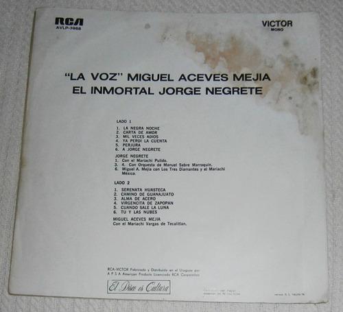 miguel aceves meija / jorge negrete ( l p uruguay)