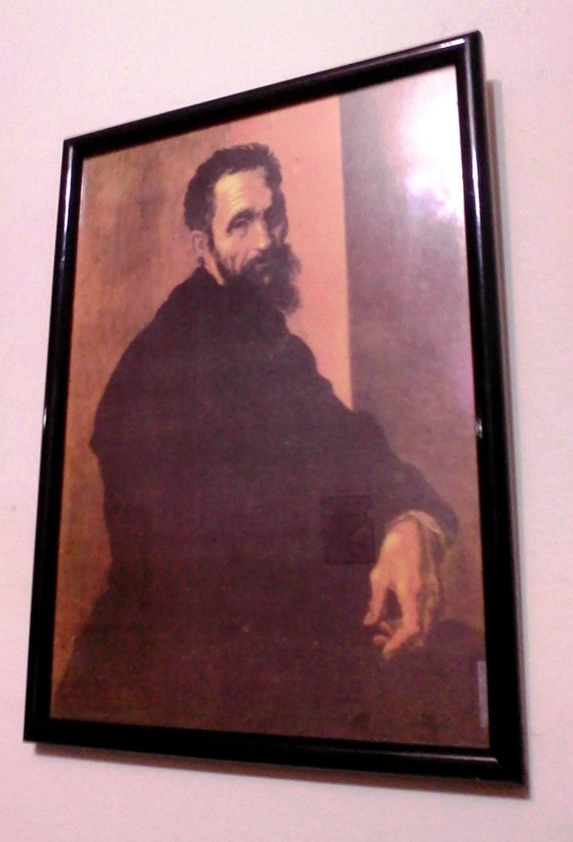 Miguel Ángel Buonarroti - Autorretrato ( Enmarcado ) - $ 500,00 en ...