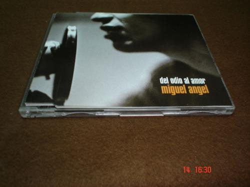 miguel angel - cd single - del odio al amor