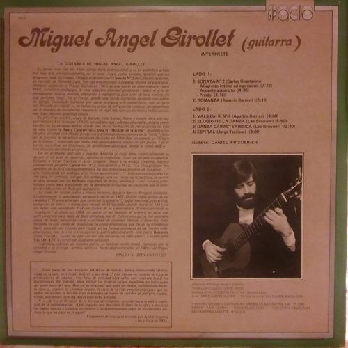 miguel angel girollet la guitarra guastavino vinilo 10 pts