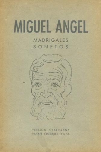 miguel angel madrigales sonietos libros