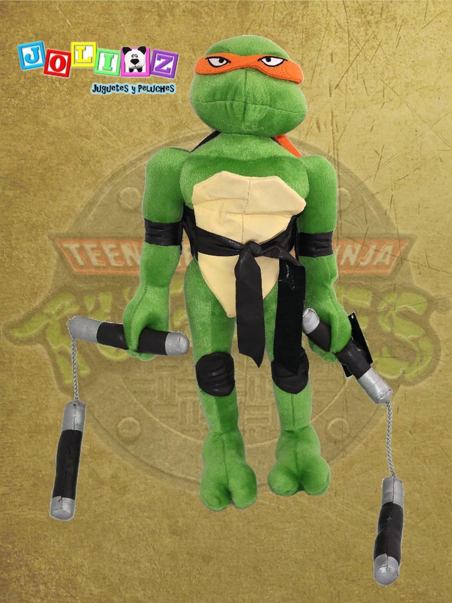 Miguel Angel Tortuga Ninja Peluche 42 Cm - $ 299.00 en