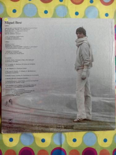 miguel bose lp 1978  amor mio, como estas?