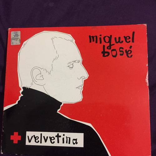 miguel bosé velvetina cd/dvd edición especial