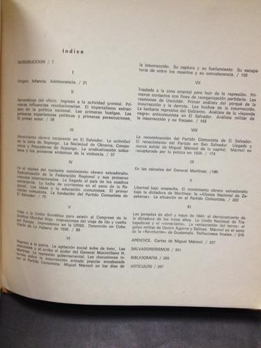miguel mármol, los sucesos de 1932 en el salvador.roque dalt