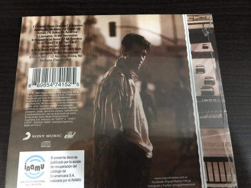 miguel mateos solos en america cd nuevo original en stock
