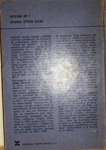 miguel otero silva oficina n° 1 novela