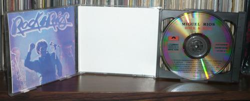 miguel rios 2 cd album rock y rios