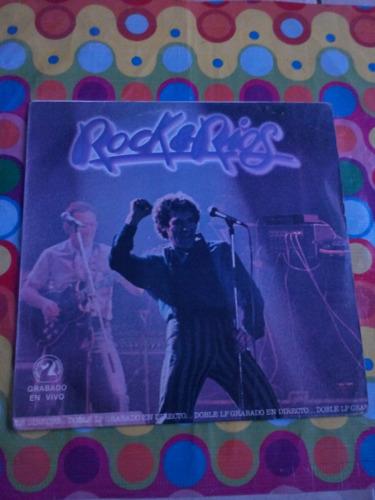 miguel rios lp rock & rios 1982