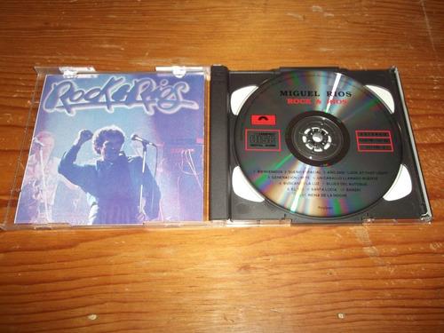 miguel rios - rock & rios cd doble 1era ed nacional mdisk