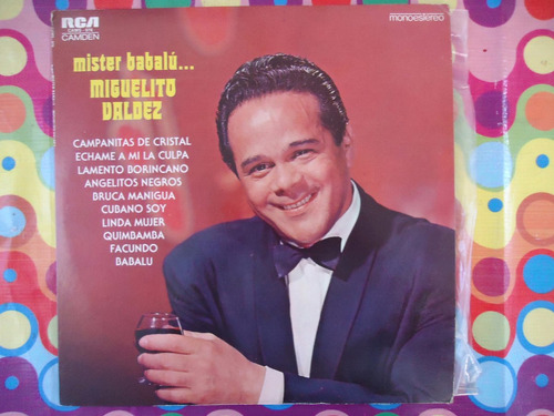 miguelito valdez lp mister babalu 1978