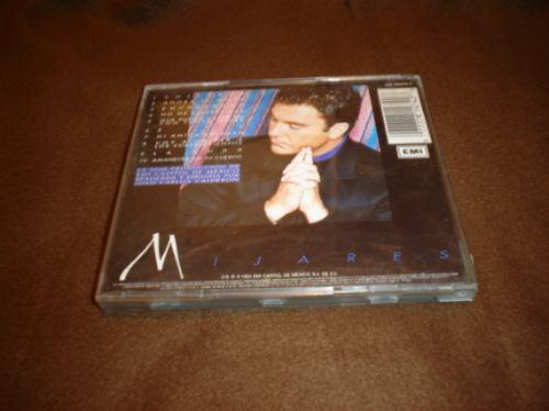 mijares - cd album - encadenado   nvd