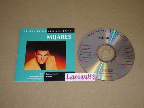 mijares lo mejor de los mejores 1994 emi cd canada