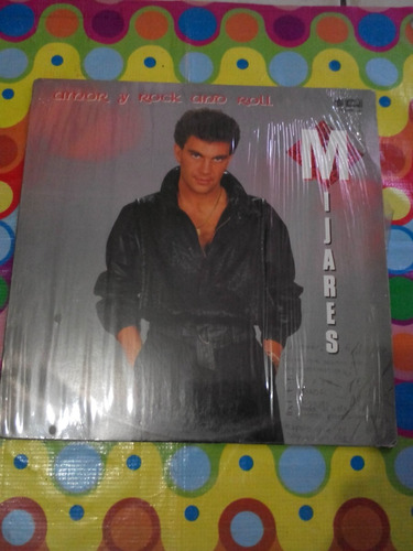 mijares lp amor y rock and roll 1987