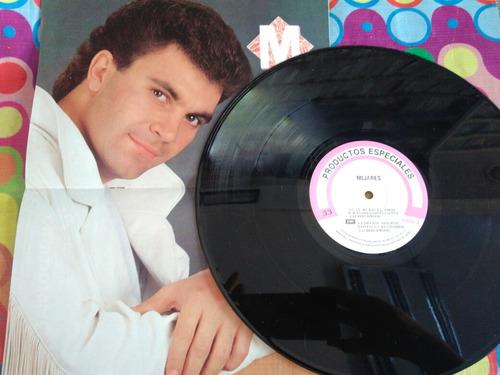 mijares lp disco poster no se murio el amor r