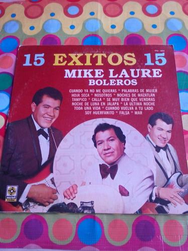 mike laure lp boleros 15 éxitos 1984
