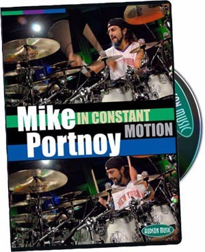 dvd mike portnoy in constant motion