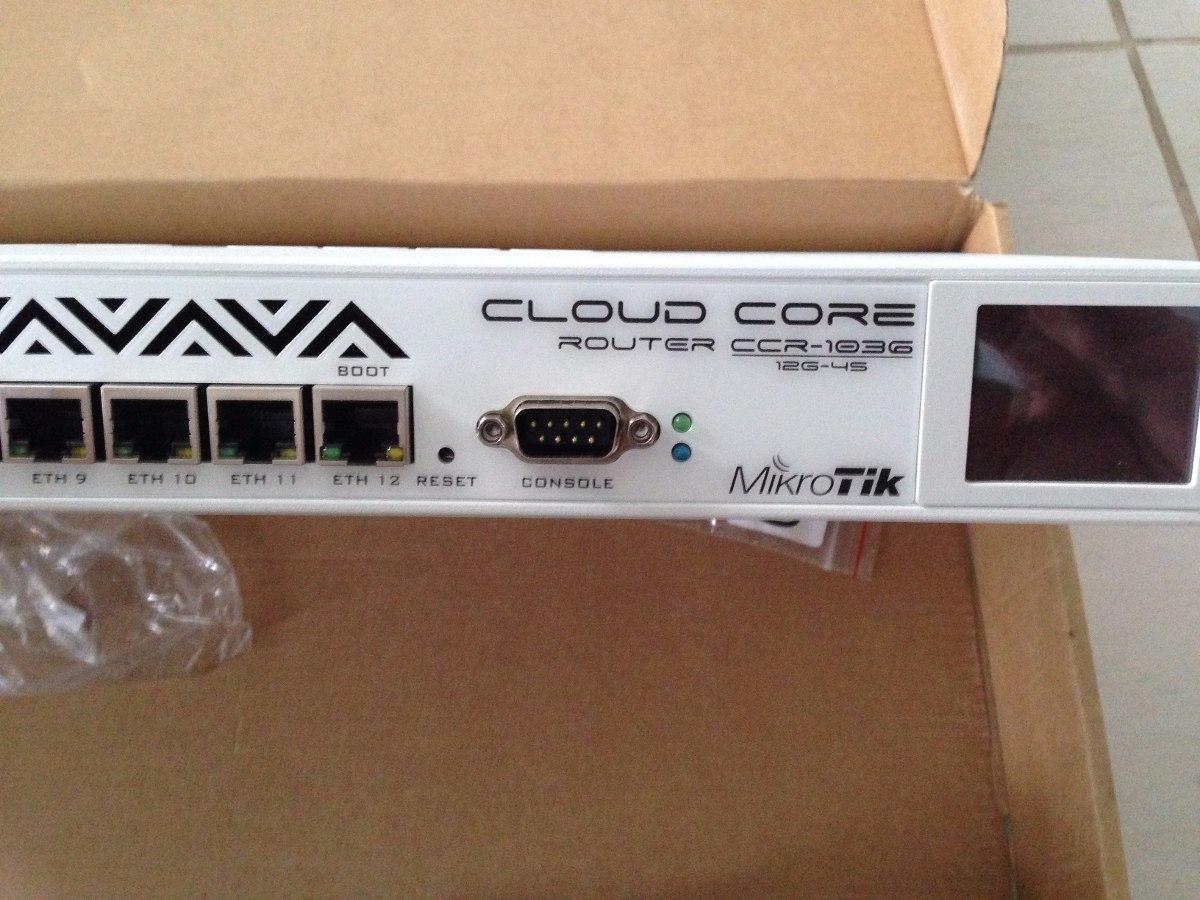Mikrotik Cloud Core Router Ccr1036 12g 4s Nova R 390000 Em 1036 Carregando Zoom
