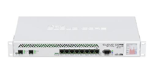 mikrotik cloud core router ccr1036-8g-2s+ 8 ptos 10gige rack