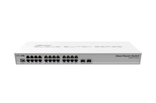 mikrotik cloud router switch crs326-24g-2s+rm l5