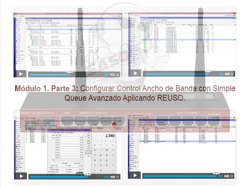 mikrotik curso en video mikrotik v6 y ubiquiti airmax