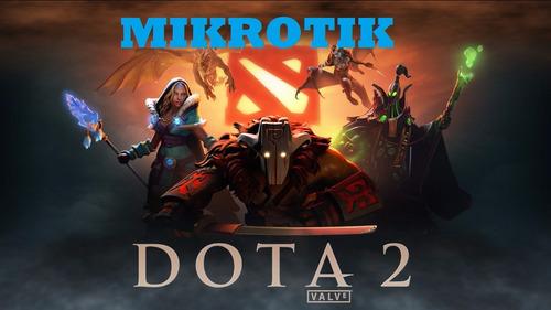mikrotik, dota2, lan center, juegos online