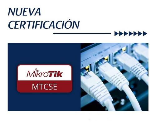 mikrotik network security mtcse curso pre-certificación