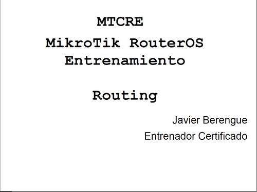 mikrotik oficial en español 23 libros + lab + bonos + script