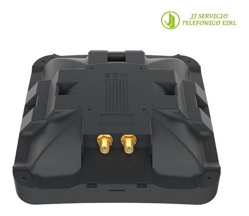 mikrotik perú mtao-lte-5d-sq antenna with two sma connectors