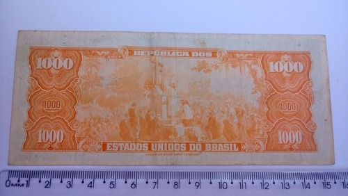 mil cruzeiros numismática nº 2054