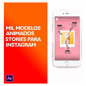 Mil Stories Instagram Templates After Effects Animados