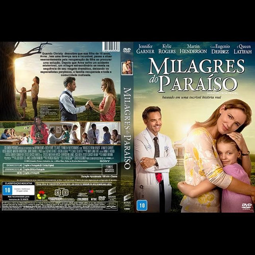 milagres do paraíso dvd  sony original