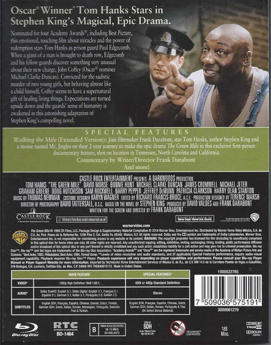 milagros inesperados -the green mile- edición 15 aniversario