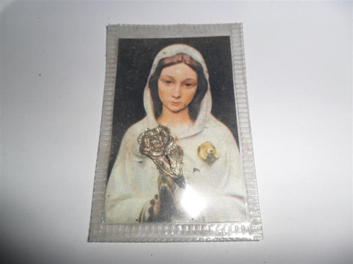 milagrosa imagen de maria rosa mistica oracion relicario