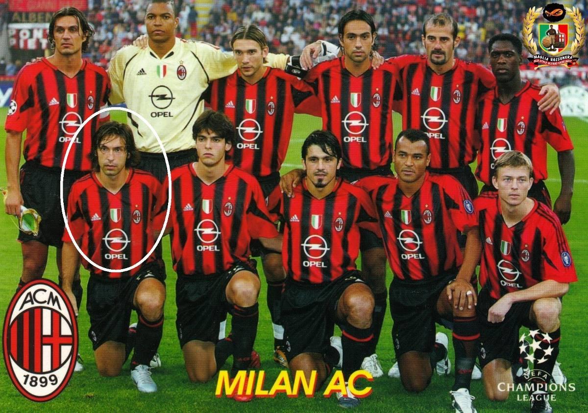 Camisa Milan - Pirlo   21 - 2005 - Itália - Ler Todo Anúncio - R  50 ... d0be0f57230e4