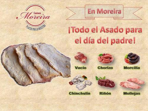 milanesa de carne. carnes moreira