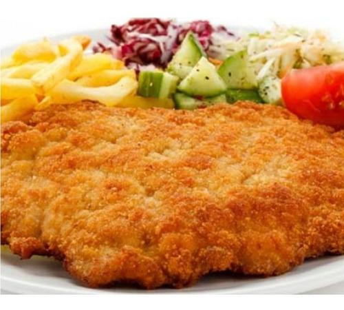 milanesa de pollo premium por kilo granja 2 cuñados