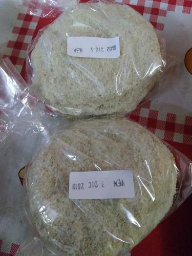 milanesas de soja caseras simples.