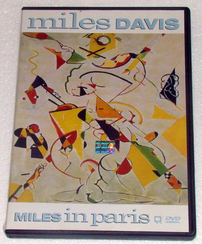 miles davis miles in paris 1989 dvd argentino / kktus