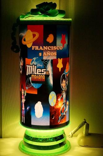miles del mañana centrosmesa recuerdos lampara personalizada