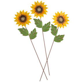 """Wee Scapes 00313 3/"""" 8pk 1/"""" Sunflowers"""