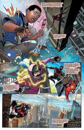 miles morales spider-man #1 (2018) lgy#241 marvel