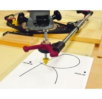 milescraft - pantógrafo (pantorouter) - pro segunda geração