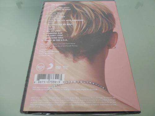 miley cyrus / bangerz tour / dvd / nuevo / sellado /