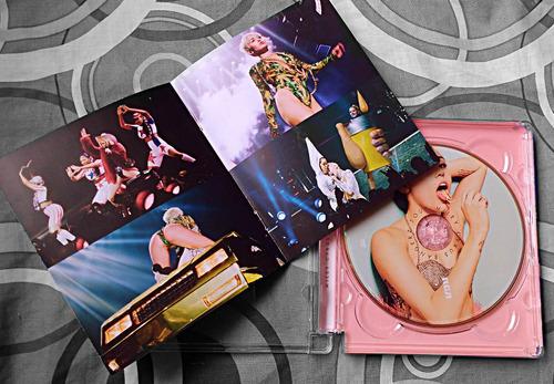 miley cyrus - bangerz tour dvd (súper jewel box edition)