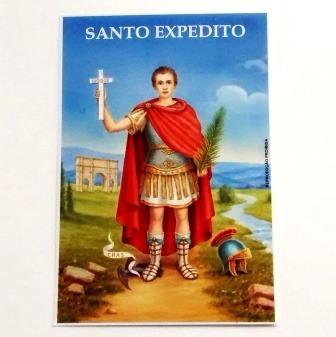 milheiro de santinho santo expedito oração de promessa 1000