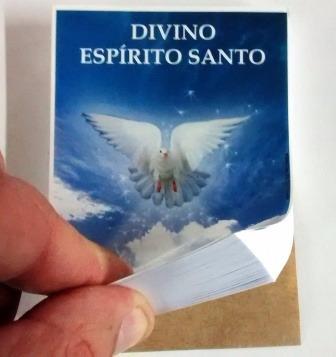 milheiro santinho oração divino espírito santo promessa 1000