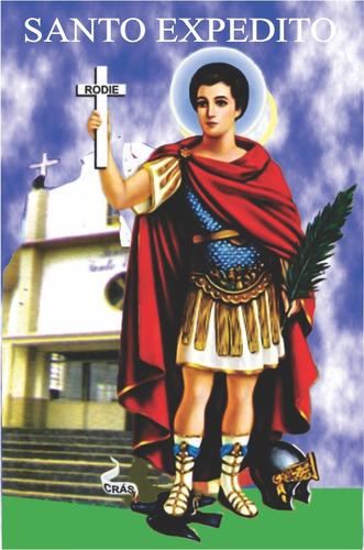 milheiro santinho santo expedito oração promessa 1000 un